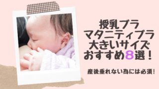 授乳ブラマタニティブラ大きいサイズおすすめ8選!